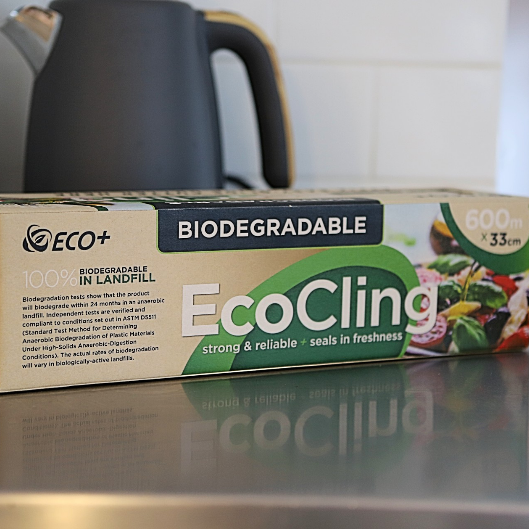 NEW BIODEGRADABLE CLING FILM | EcoCling